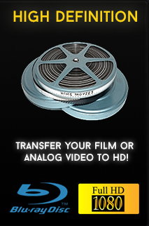 Film to DVD Conversion Store - Video Transfer Service Los